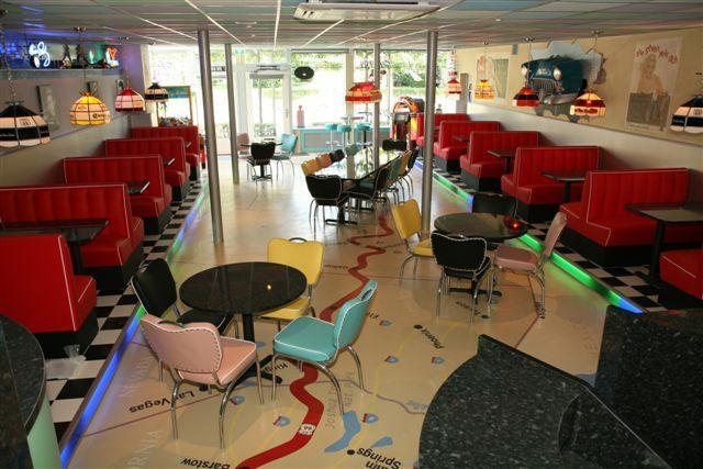Hoekbanken Keuken : American Diner Booth